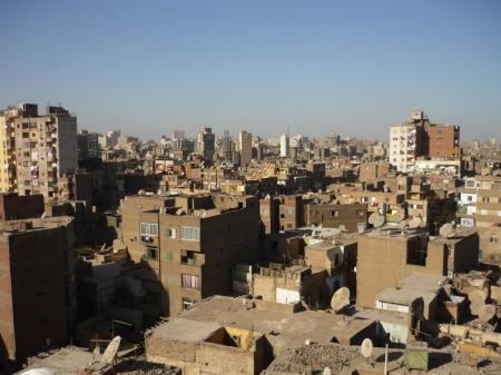 Permandangan di bandar Kaherah